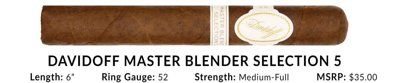 Davidoff Master Blender Selection 5